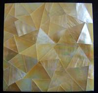 Yellow MOP Shell Mosaic