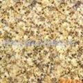 yellow rust granite slab stone