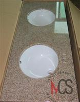 Gold Granite Vanity Top