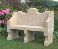 Bathstone Bench