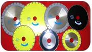 Diamond circual saw for stone and concrete industr