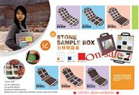 Stone sample box