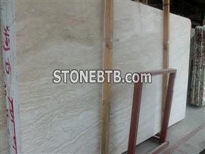 Super white travertine