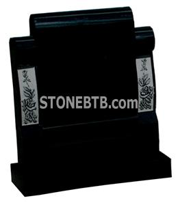 GH18 Polished Granite Headstone