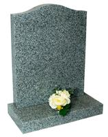 GH02 Polished Granite Headstone