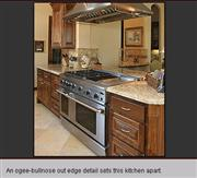 Ogee-bullnose Granite Kitchen Top