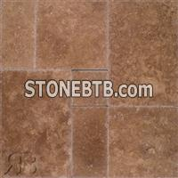 Noce Select Filled Versailles Pattern Travertine