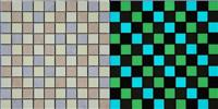 Photoluminescent (Luminous) tile ceramics mosaic