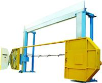 Rope saw for cutting blocks