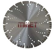Laser Welded Turbo-Segmented  Diamond Blade with Jumbo Rim