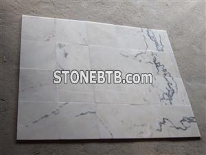 Wave White Marble