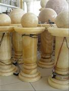 Yellow Onyx Fountain Ball