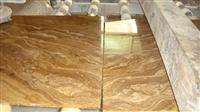 Yellow Wood Vein marble slabs