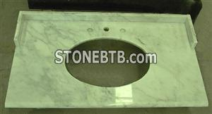 Marble Carrara countertop