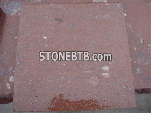 China Red Porphyry block Putian Red