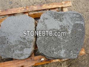 China Basalt with holes-Garden stone-paving stone