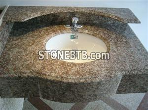 Red Granite vanity top G687