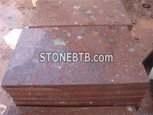 China Red Porphyry Tiles (Putian Red)