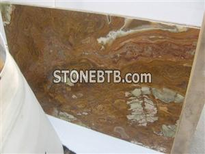 Multi Brown Onyx Tiles