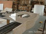 G682 yellow Granite countertop &Vanity top