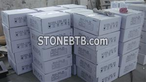 Guangxi White Marble Packing