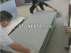 Basalt Light Sandblasted Slab