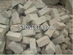 G682 yellow granite cube