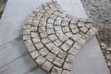 Fan Shape G682 Paving Stone