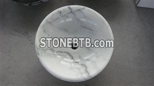 Guangxi White Marble sinks