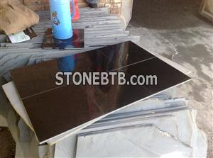 Mongolia Black Granite Cut-to-Size
