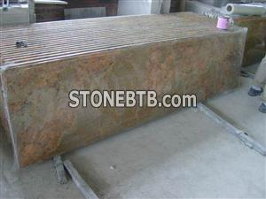Ornamental Gold Granite Countertop