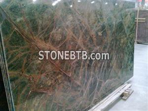 Rainforest Green Marble with unbeatable prices