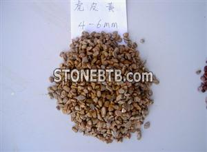 Yellow Gravel Stone for Contruction