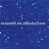 blue artificial marble