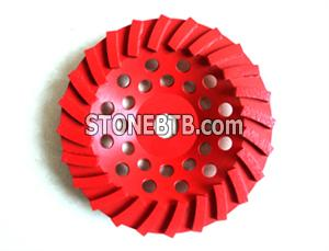 Turbo Type Diamond Grinding Cup Wheels
