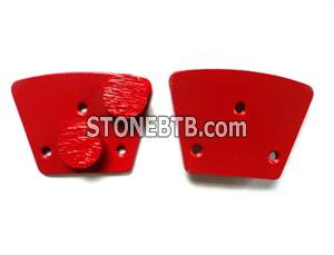 Trapezoid type Diamond Grinding Plate/Shoe