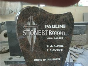 Cross Granite Gravestone