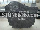 Rose Carved Granite Tombstone