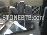 gray granite tombstone