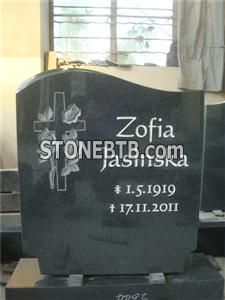 European style granite baby tombstone