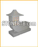 Chinese Granite Garden Decorative Stone Lanterns