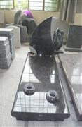Italian style china green marble headstones
