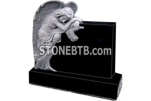 western style stone baby monument