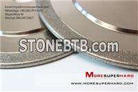 Electroplated CBN grinding wheel for metallic materials industry application miya@moresuperhard.com