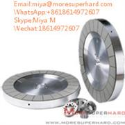 Double Disc Diamond & CBN Grinding Wheel for Seal,Magnetic materials miya@moresuperhard.com