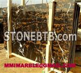 Black & Gold Marble Polished Slabs