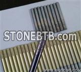 Long Life 8mm Flat-End Sintered Diamond Granite Hard Stone Cutting Bit CNC Milling Tools