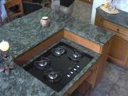 Verde Olive Green Granite countertop