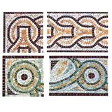 Mix Marble Mosaic Border Line