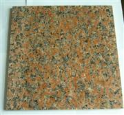 Red  Polished Granite Tile